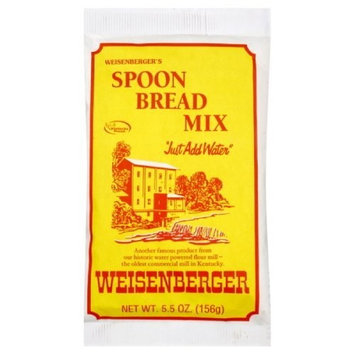 Weisenberger Spoonbread Mix, 5.5-Ounce (Pack of 12)
