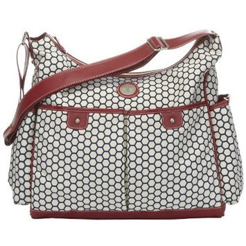 Carter's Canvas Hobo Style Fashion Diaper Bag