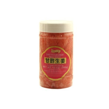 shirakiku amasu shoga (sweet pickled ginger) - 12oz