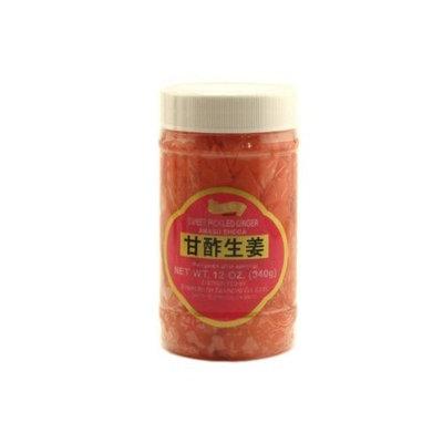 shirakiku amasu shoga (sweet pickled ginger) - 12oz
