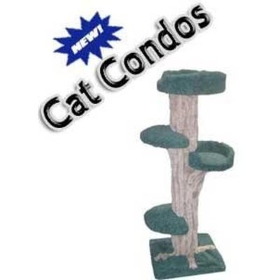 New Cat Condos Large Cat Play Tree