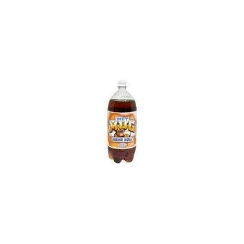 Unknown Mug Diet Cream Soda, 2-Liter Bottle (Pack of 6)