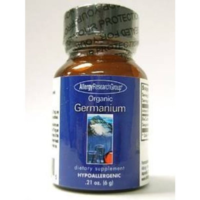Allergy Research Group ORGANIC GERMANIUM, PWD 6 g