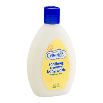 Cottontails Soothing Creamy Baby Wash Fragrance Free