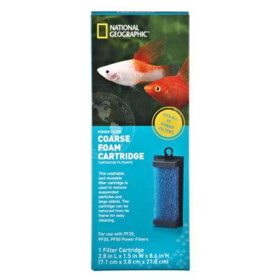 National GeographicTM Coarse Form Aquarium Filter Cartridge