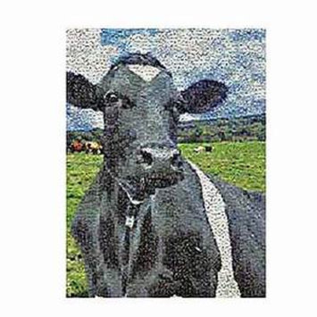 Photomosaics Cow Jigsaw Puzzle Ages 8+