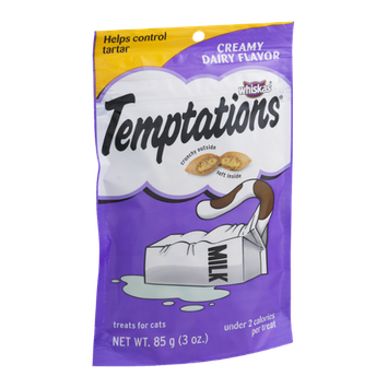 Whiskas Temptations Creamy Dairy Flavor Treats for Cats