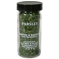 Morton & Bassett Parsley, .28-Ounce Jars (Pack of 3)