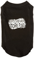 Ahi Dirty Dogs Screen Print Shirt Black Lg (14)