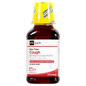 DG Health Nite Time Cough Relief - Cherry Flavor