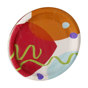 Hallmark Celebration Balloons Party Plates - 8 CT