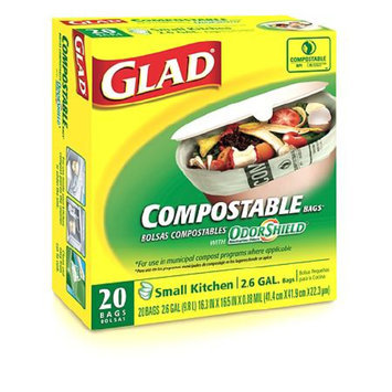 Glad Compostable Odorshield Bags