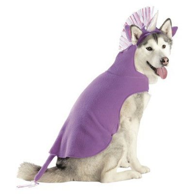 Boots & Barkley Boots and Barkley Unicorn Partial/Hoodie Pet Costume - Large