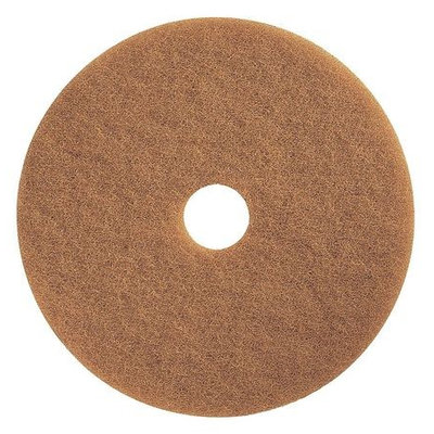 TOUGH GUY 4RY63 Burnishing Pad,20 In, Tan, PK5