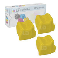 LD Xerox Compatible Yellow (3 Pack) 108R00671 / 108R671 Solid Ink Sticks