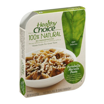 Healthy Choice 100% Natural Portabella Marsala Pasta