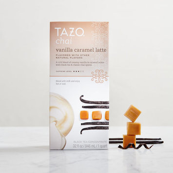Tazo Vanilla Caramel Chai Tea Latte Concentrate Starbucks Black Tea