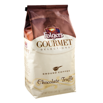 Folgers Gourmet Selections Chocolate Truffle Ground Coffee