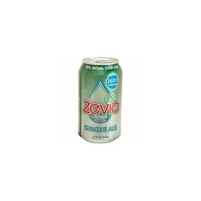Zevia 35646 Natural Ginger Ale Diet Soda