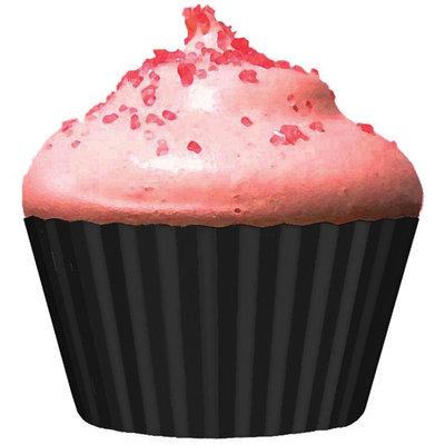 Cupcake Creations 152479 Standard Baking Cups 32-Pkg-Black