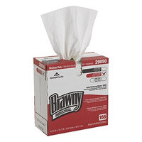 Georgia Pacific Brawny Industrial 29050/03 White 4-Ply Scrim-Reinforced Paper Wipers, 16.7