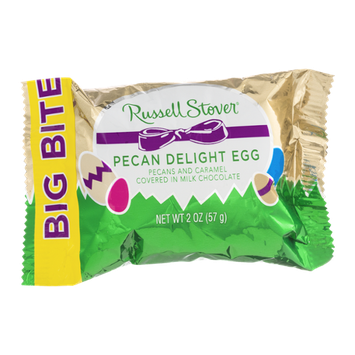 Russel Stover Big Bite Pecan Delight Egg