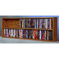 Wood Shed 52 in. Wall Mount DVD Storage (Unfinished)