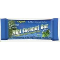 Coconut Secret Mint Coconut Bar 1.75 Ounces (Case of 12)