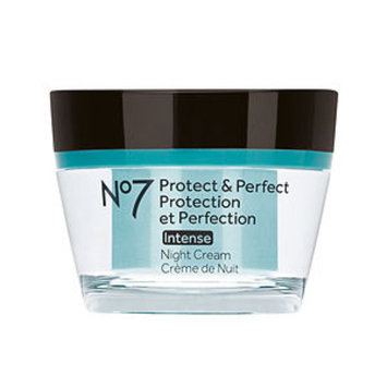 Boots No7 Protect & Perfect Intense Night Cream, 1.6 fl oz