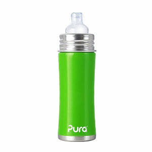 Pura Kiki Stainless Steel Toddler Bottle with Silicone Sip Spout