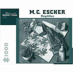 MC Escher Reptiles Puzzle 1000 pcs  Ages 12 and up