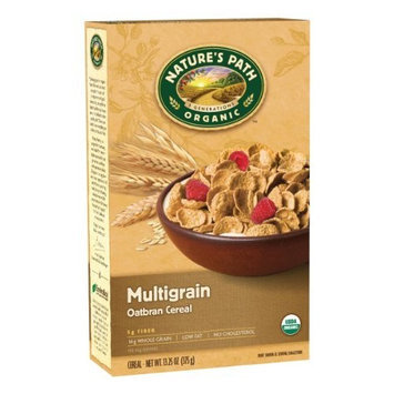 Nature's Path Organic Multigrain Oatbran Flakes Cereal, 13.25-Ounce Boxes(Pack of 6)