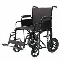 ProBasics Bundle-27  22'' Heavy Duty Transport Chair (Set of 2)