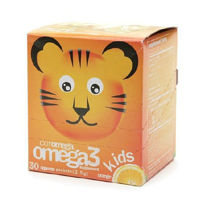 Coromega Omega-3 Kids Squeeze Packets