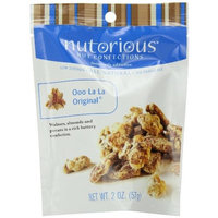 Nutorious Nut Confections Ooo La La Original, 2-Ounce Pouches (Pack of 12)