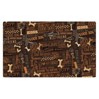 RPM International, Inc. Drymate Multi-Use Good Dog Pet Mat Set - Brown and Black