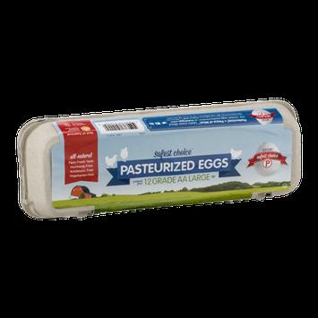 Davidson's Safest Choice Grade AA Pasteurized Eggs Large - 12 CT