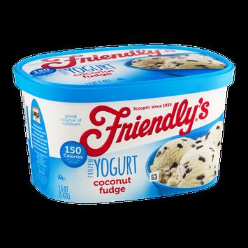 Friendly's Frozen Yogurt Coconut Fudge