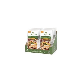 Simply Organic Turkey Gravy, Family Size, Ds 2.55 oz (Pack Of 16)