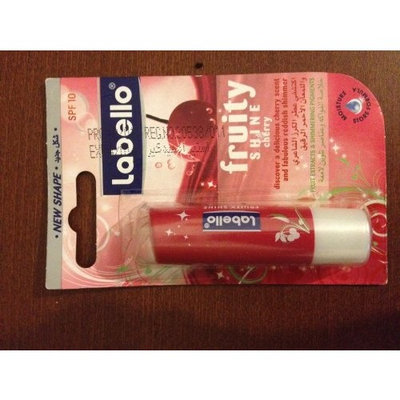 Labello Fruity shine Cherry Lip Balm spf 10