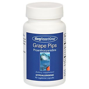 Allergy Research Group Grape Pips 100mg 90c