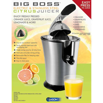Big Boss Electric Citrus Juicer, Stainless Steel