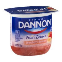 Dannon Fruit on the Bottom Lowfat Yogurt Strawberry Banana