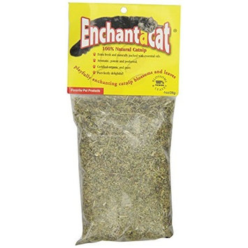 Enchantacat Premium Organic Catnip Bag, 1-Ounce