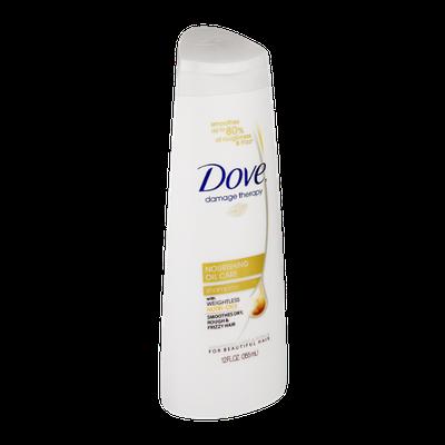 Dove Nourishing Oil Repair Shampoo 12 oz