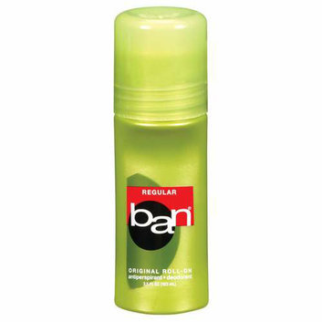 Ban Regular Original Roll-On Antiperspirant/Deodorant