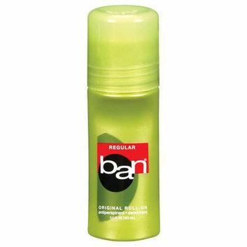 Ban Regular Original Roll-On Antiperspirant/Deodorant