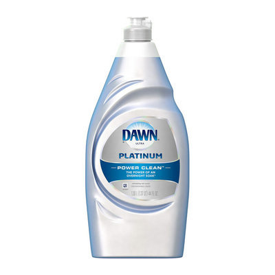 Dawn Platinum Power Clean Refreshing Dishwashing Liquid Rain Scent