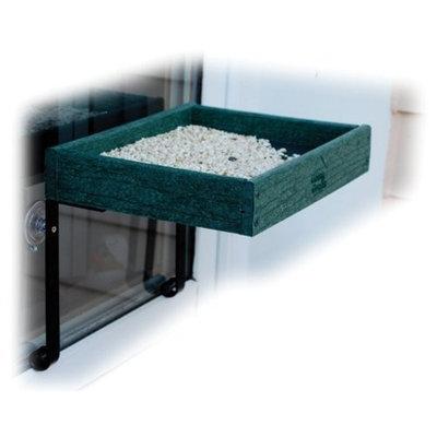 Aububon/Woodlink Going Green Recycled Plastic Window Bird Feeder