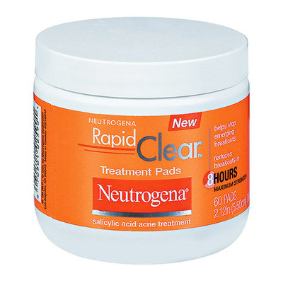 Neutrogena Rapid Clear Maximum Strength Treatment Pads 60 ct